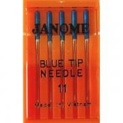 Набор игл Janome Blue Tip №75 (Лайкра и Бифлекс)