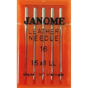 Набор игл Janome Leather Needle №100 (Кожа)