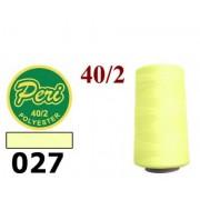 Швейные нитки Peri 4000 ярдов № 027