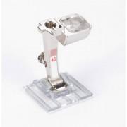 033 308 71 00 Прозрачная лапка для защипов и декоративных строчек №46С Bernina