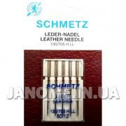 Набор игл Schmetz Leather №80