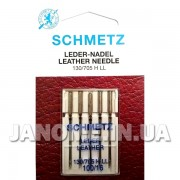 Набор игл Schmetz Leather №100