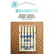 Набор игл Schmetz Jersey №90