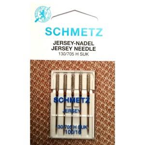 Набор игл Schmetz Jersey №100