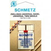 Игла двойная Schmetz Universal №90/4,0