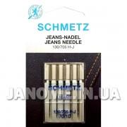 Набор игл Schmetz Jeans №70