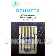 Набор игл Schmetz Jeans №80