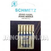 Набор игл Schmetz Jeans №100