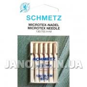 Набор игл Schmetz Microtex №80