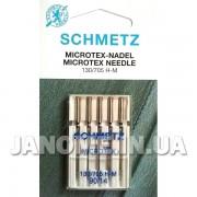 Набор игл Schmetz Microtex №90
