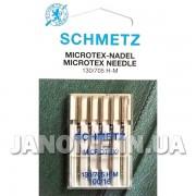 Набор игл Schmetz Microtex №100
