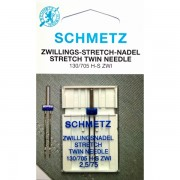 Игла двойная Schmetz Stretch №75/2,5