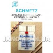 Игла двойная Schmetz Universal №80/1,6