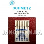 Набор игл Schmetz Leather №80-100