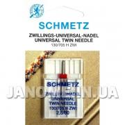 Игла двойная Schmetz Universal №80/2,5